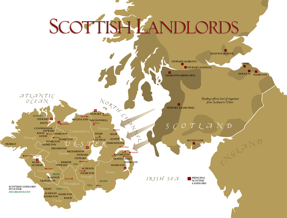 The Scots in Ulster: Scottish Landlords